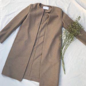 Beige Harris Wharf Trench Coat Brand New Condition
